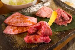 【炭火焼肉だいじゅん/青森県青森市】レアなハラミ、分厚い牛タン、プルプルのレバーを焼く!