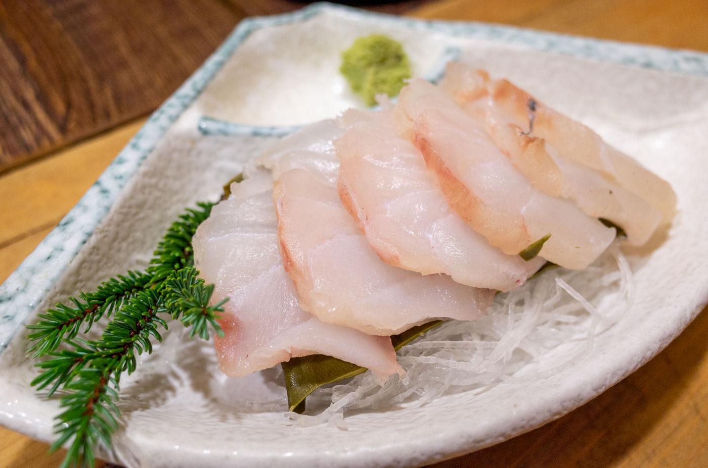 蔵八の真鱈の昆布締め