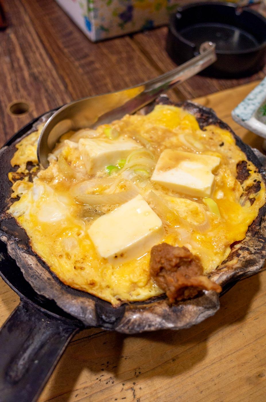 蔵八の貝焼き味噌