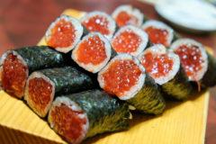 【三九鮨/青森県青森市】小さな鮨屋のスゴい筋子巻きとトロサバ巻き