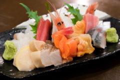 【夕凪/青森県弘前市】地元向け居酒屋の旨い海の幸と地の野菜、そして筋子おにぎり