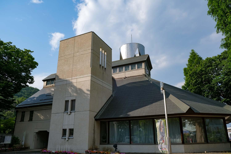 古関裕而記念館の外観