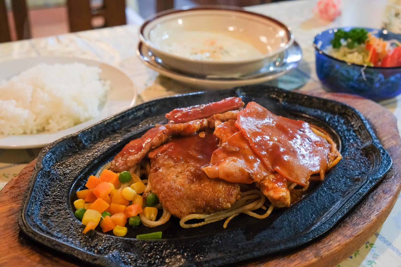 菊原キッチンカロリーの肉取合せ