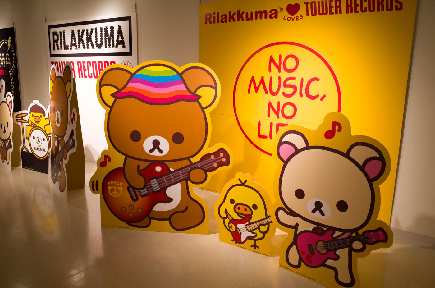 Rilakkuma × TOWER RECORDS CAFE-07